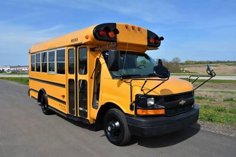 2007 Chevrolet 3500 Duramax Diesel Mini School Bus for sale at Signature Truck Center - Buses in Crystal Lake IL