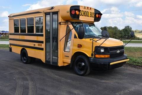 2006 Chevrolet 3500 Duramax Diesel Mini School Bus for sale at Signature Truck Center - Buses in Crystal Lake IL