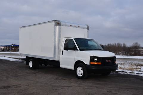 2012 GMC 3500 16ft Box Truck for sale in Crystal Lake, IL