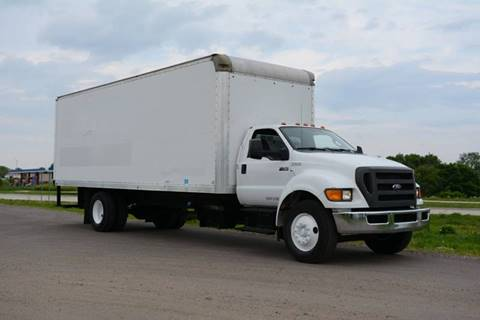 2012 Ford F-750 for sale at Signature Truck Center - Box Trucks in Crystal Lake IL