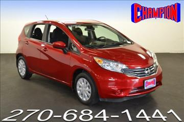2015 Nissan Versa Note for sale in Owensboro, KY
