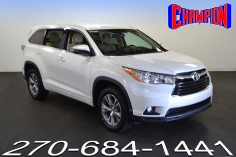 2014 Toyota Highlander for sale in Owensboro, KY