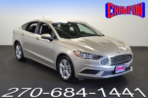2018 Ford Fusion for sale in Owensboro, KY