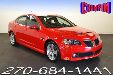 Pontiac g8 for sale in owensboro ky carsforsale 2009 pontiac g8 for sale in owensboro ky sciox Image collections