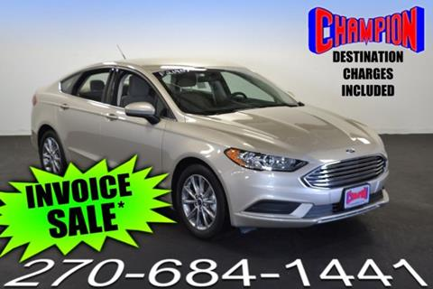 2017 Ford Fusion for sale in Owensboro, KY