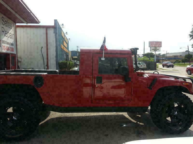 2003 HUMMER H1 2 DR - Houston TX