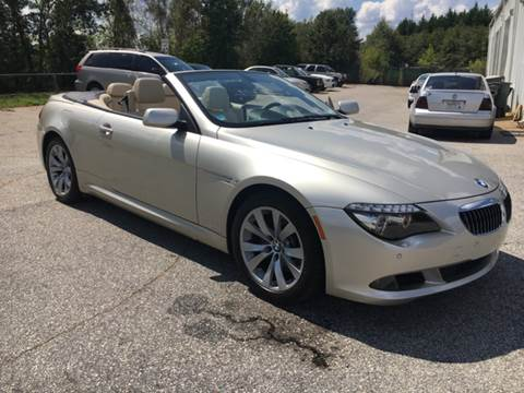 2009 BMW 6 Series for sale at UpCountry Motors in Taylors SC