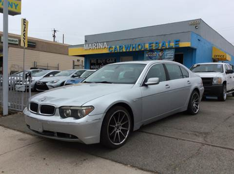 Bmw Used Cars Financing For Sale Los Angeles Marina Car Wholesale - 2004 bmw models
