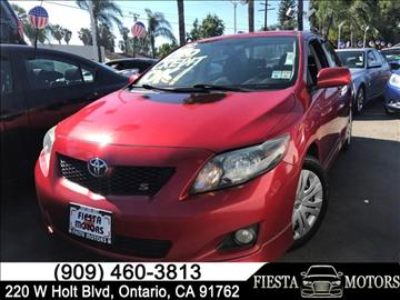 2009 Toyota Corolla for sale in Ontario, CA
