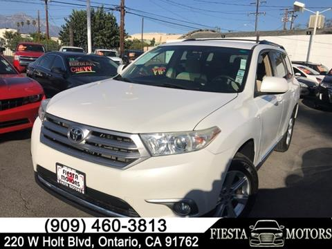 2011 Toyota Highlander for sale in Ontario, CA