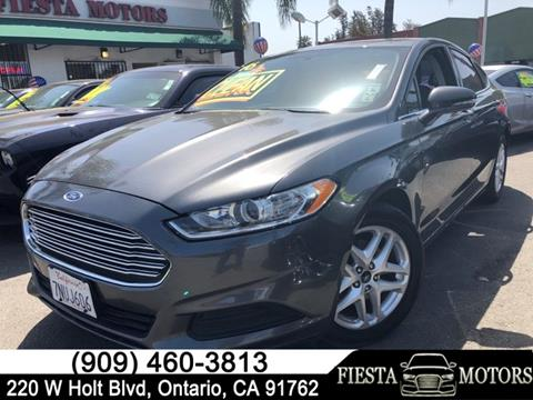 Used 2016 ford fusion for sale in california for California motors direct montclair
