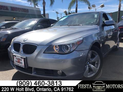 2004 BMW 5 Series For Sale In Ontario CA
