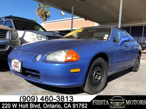 1993 Honda Civic del Sol for sale in Ontario, CA