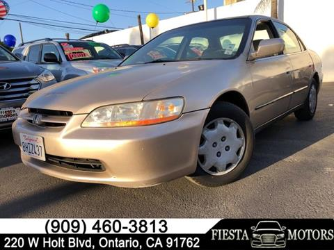 2000 Honda Accord for sale in Ontario, CA