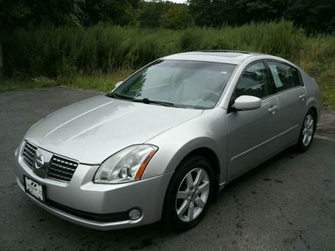 2005 Nissan Maxima for sale at Inter Car Inc in Hillside NJ