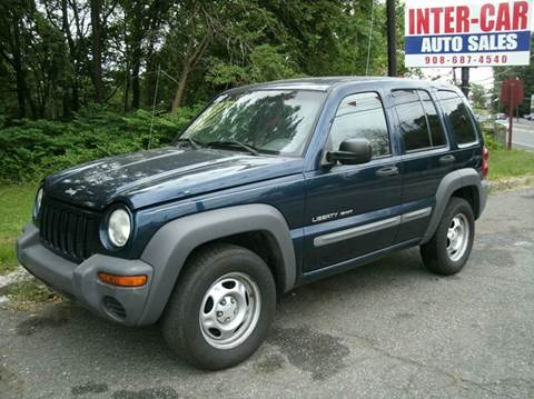 2002 Jeep Liberty for sale at Inter Car Inc in Hillside NJ