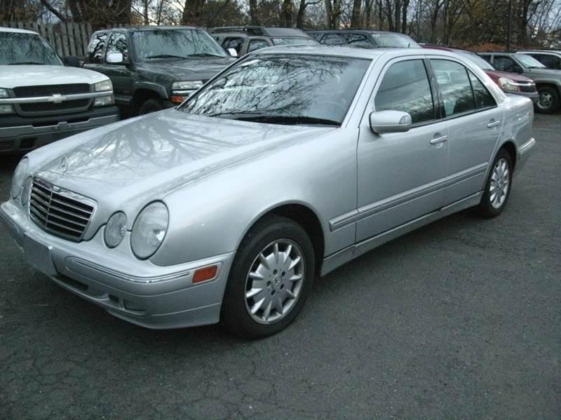 2002 Mercedes-Benz E-Class for sale at Inter Car Inc in Hillside NJ