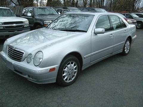 2002 Mercedes-Benz E-Class for sale at Inter Car Inc in Hillside NJ