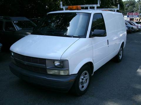 2004 Chevrolet Astro Cargo for sale at Inter Car Inc in Hillside NJ