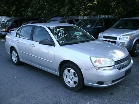 2004 Chevrolet Malibu for sale at Inter Car Inc in Hillside NJ