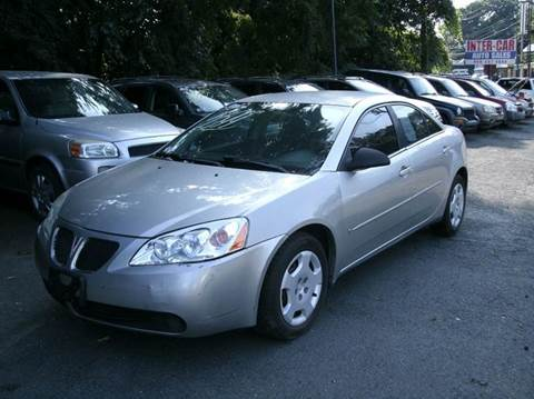 2007 Pontiac G6 for sale at Inter Car Inc in Hillside NJ