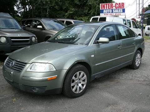 2003 Volkswagen Passat for sale at Inter Car Inc in Hillside NJ