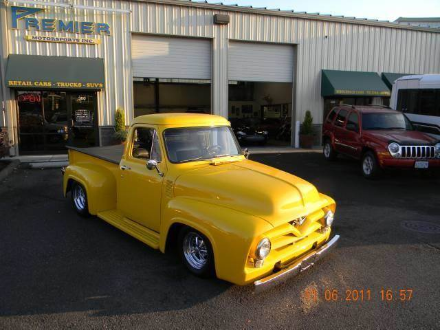 1954 Ford E-100 for sale at PREMIER MOTORSPORTS in Vancouver WA