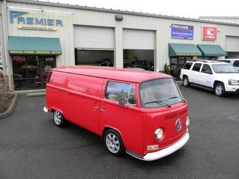1972 Volkswagen Transporter II for sale at PREMIER MOTORSPORTS in Vancouver WA