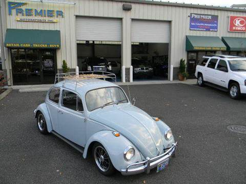 1967 Volkswagen Beetle for sale at PREMIER MOTORSPORTS in Vancouver WA