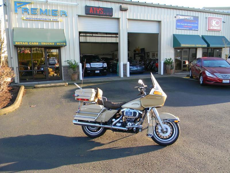 1982 Harley-Davidson Flt Tour Glide Tour Pack In Vancouver WA ...