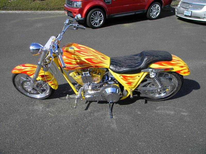 1996 Simms FXR Custom Harley - Vancouver WA