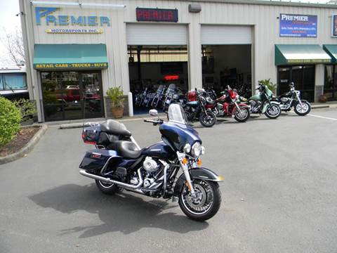 2013 Harley-Davidson Ultra Classic Electra Glide for sale at PREMIER MOTORSPORTS in Vancouver WA