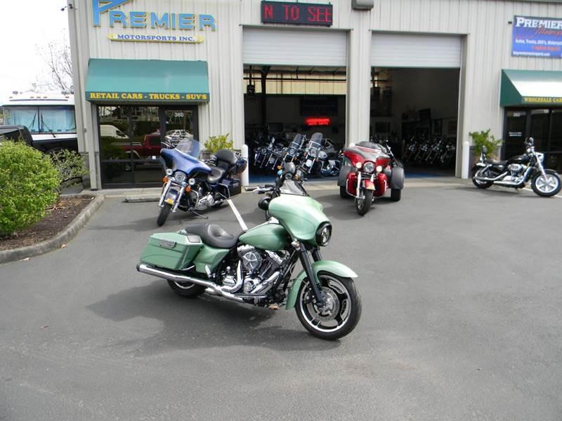 2011 Harley-Davidson Street Glide for sale at PREMIER MOTORSPORTS in Vancouver WA