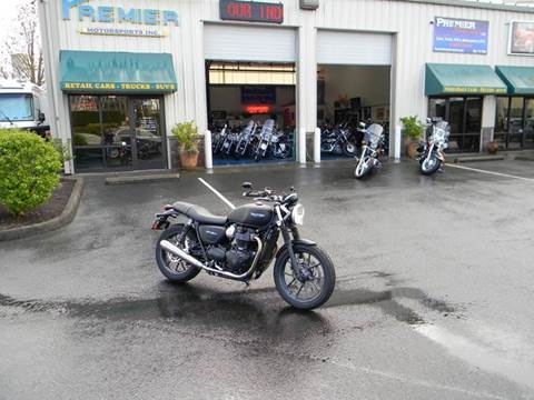 2016 Triumph Street Twin for sale at PREMIER MOTORSPORTS in Vancouver WA