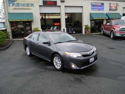 2012 Toyota Camry Hybrid for sale at PREMIER MOTORSPORTS in Vancouver WA