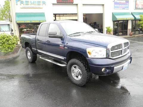 2007 Dodge Ram Pickup 2500 for sale at PREMIER MOTORSPORTS in Vancouver WA