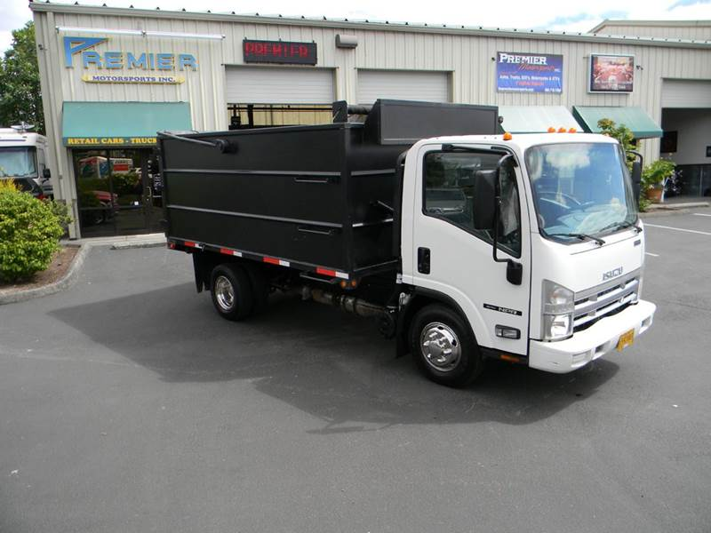 2007 Isuzu NPR 12u0027 Dump Truck   Vancouver WA