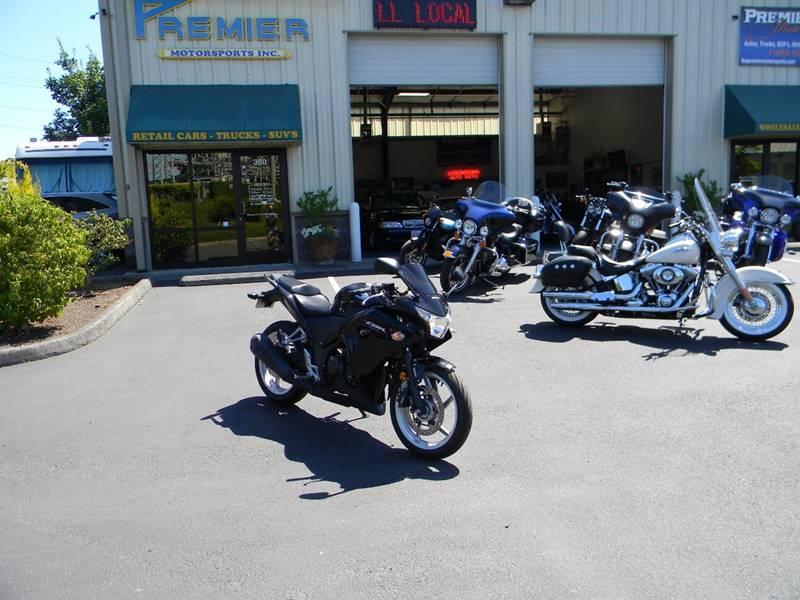 2012 Honda CBR250RA for sale at PREMIER MOTORSPORTS in Vancouver WA