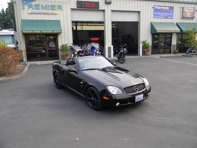 1999 mercedes benz slk slk 230 sport supercharged 2dr for Mercedes benz vancouver wa