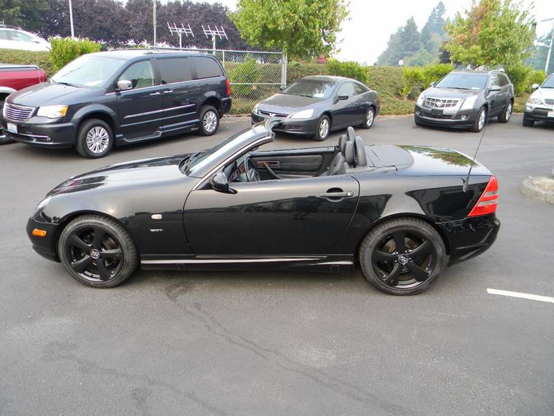 1999 mercedes benz slk slk 230 sport supercharged 2dr convertible in vancouver wa premier. Black Bedroom Furniture Sets. Home Design Ideas