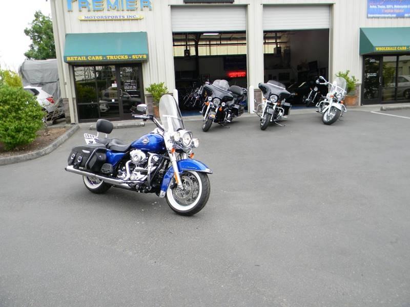 2009 Harley-Davidson Road King FLHR In Vancouver WA - PREMIER ...