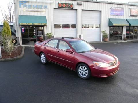 2002 Toyota Camry for sale at PREMIER MOTORSPORTS in Vancouver WA