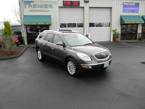 2012 Buick Enclave for sale at PREMIER MOTORSPORTS in Vancouver WA
