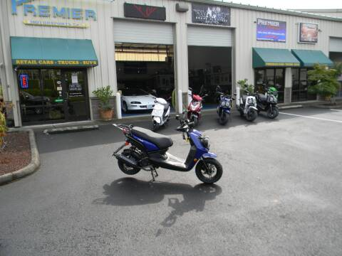 2021 Wolf Brand Scooters Rugby for sale at PREMIER MOTORSPORTS in Vancouver WA
