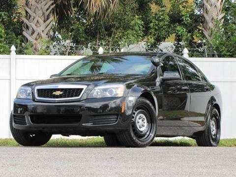 2012 Chevrolet Caprice for sale at Copcarsonline in Largo FL