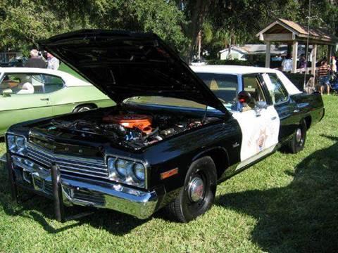 1974 Dodge Monaco for sale at Copcarsonline in Largo FL