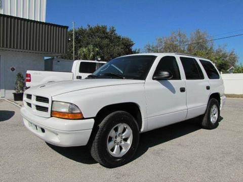 2003 Dodge Durango for sale at Copcarsonline in Largo FL