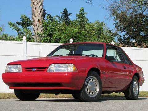 1992 Ford Mustang for sale at Copcarsonline in Largo FL