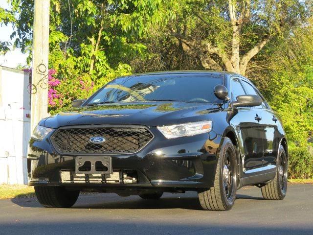 2013 Ford Taurus for sale at Copcarsonline in Largo FL
