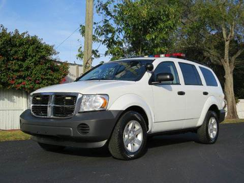 2008 Dodge Durango for sale at Copcarsonline in Largo FL